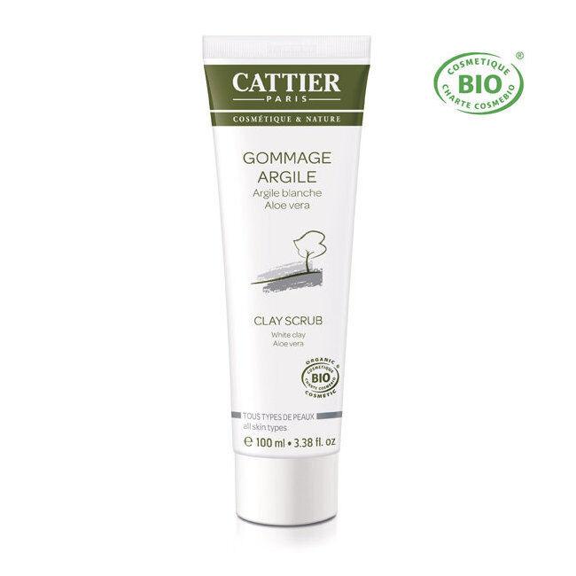 Cattier Gommage Argile blanche bio - Tous types de peaux 100ml