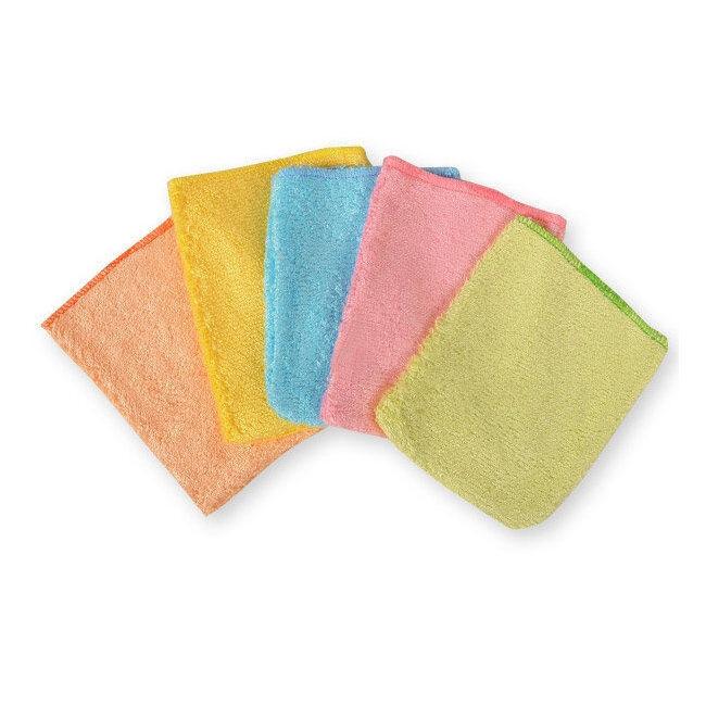 Les Tendances d'Emma Petits gants d'apprentissage en bambou pour enfants - 5 gants multicolores
