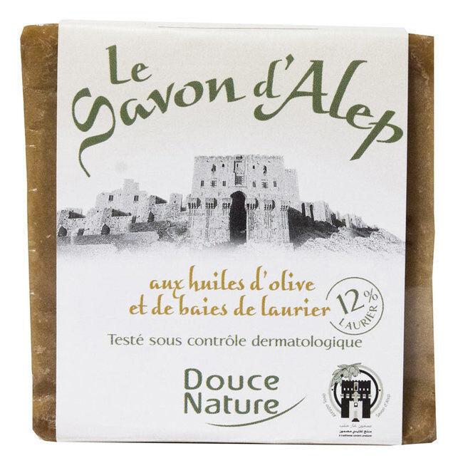 Douce Nature Savon d'Alep 12% Laurier 80% Olive 200g