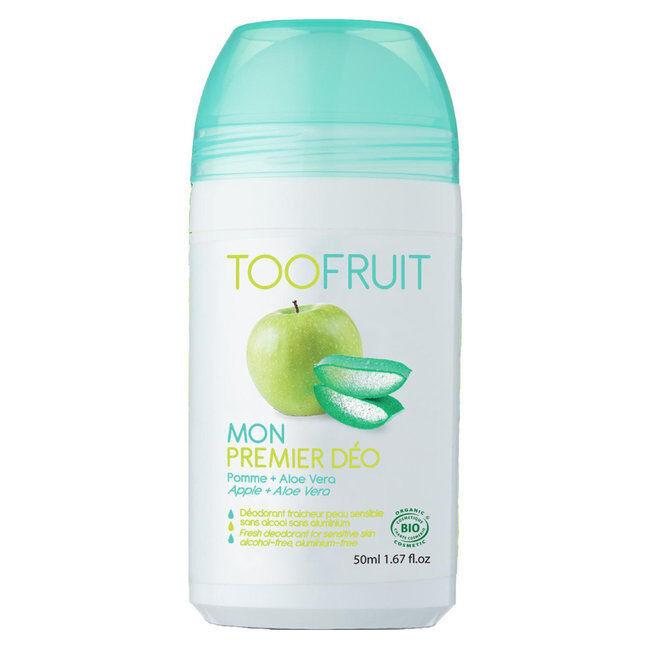 TooFruit Mon premier déodorant bio - Pomme Aloe vera pour enfants - 50ml