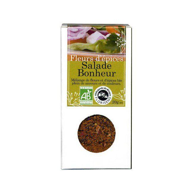Hildegarde de Bingen Fleurs d'épices bio Salade Bonheur pour la cuisine 20g