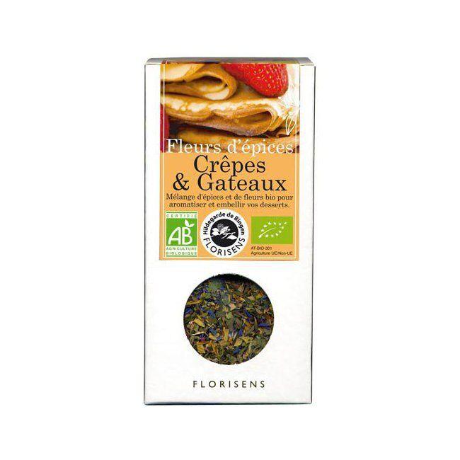 Hildegarde de Bingen Fleurs d'épices bio Crêpes et Gâteaux pour la cuisine 35g