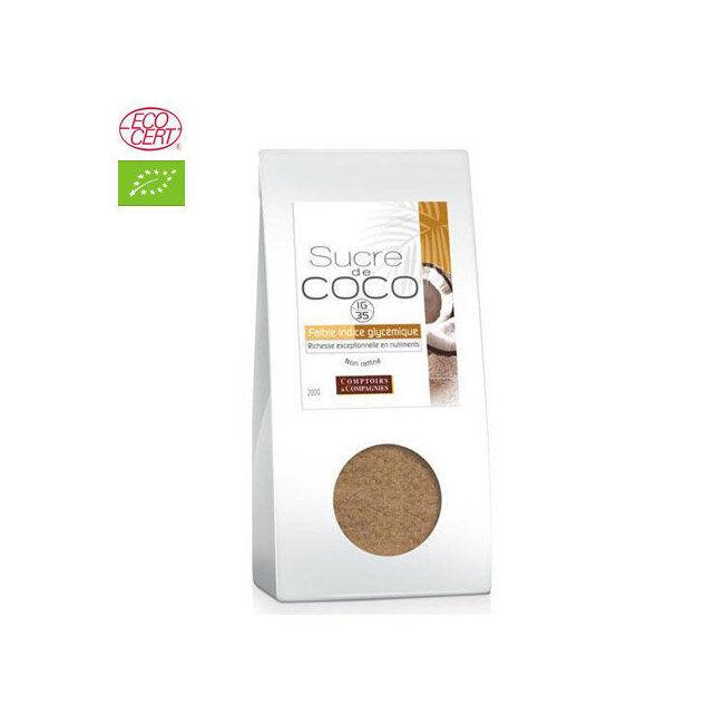 Comptoirs et Compagnies Sucre de coco bio 200g