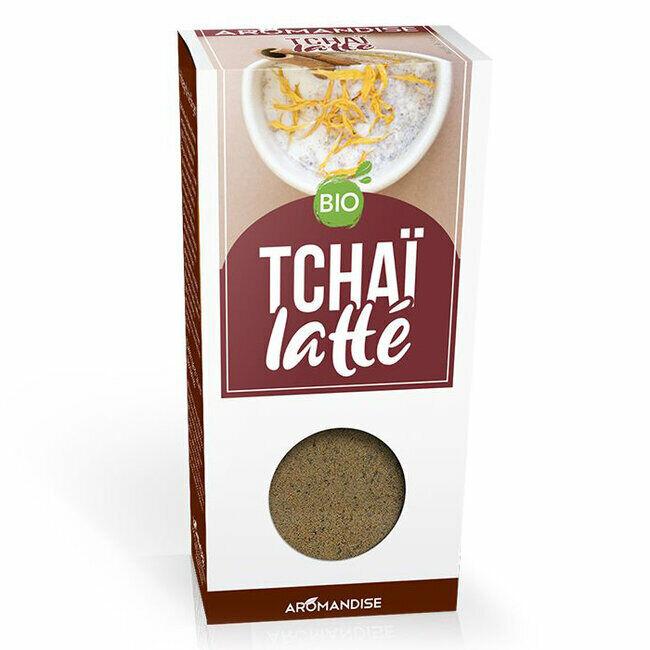 Hildegarde de Bingen Fleurs d'épices bio Tchai Latte pour la cuisine 70g