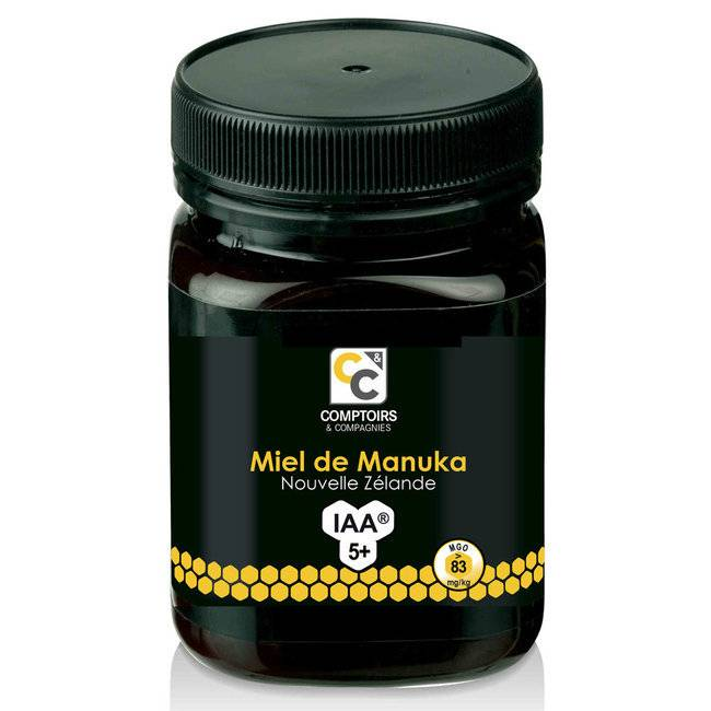 Comptoirs et Compagnies Miel de Manuka IAA 5+ Pot de 500g