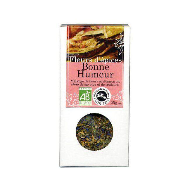 Hildegarde de Bingen Fleurs d'épices bio Bonne Humeur pour la cuisine 25g