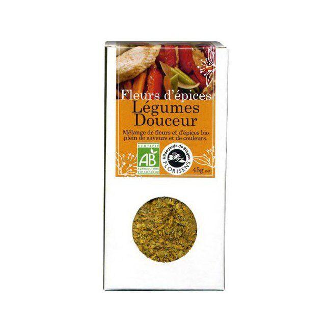 Hildegarde de Bingen Fleurs d'épices bio Légumes Douceur pour la cuisine 45g