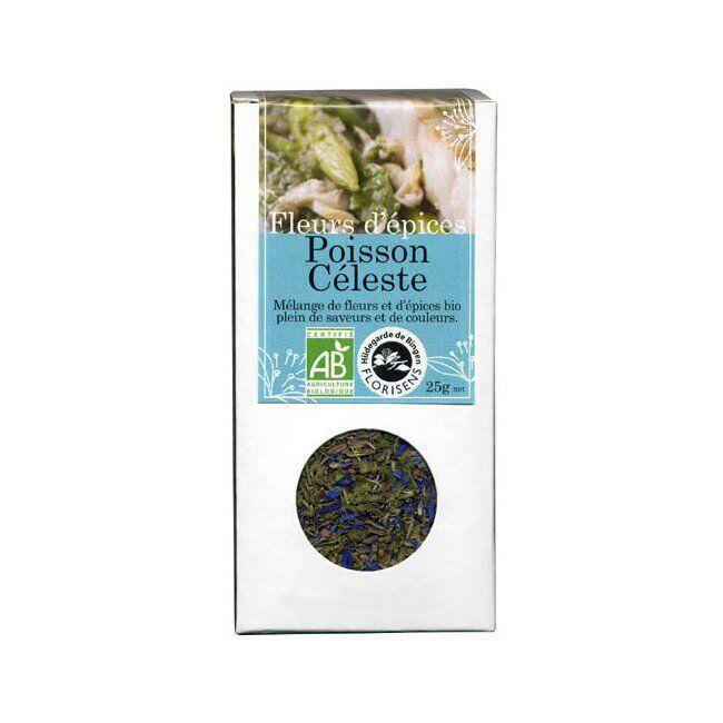 Hildegarde de Bingen Fleurs d'épices bio Poisson céleste pour la cuisine 25g