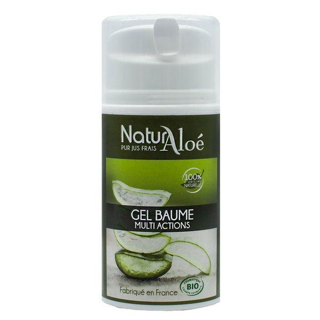 NaturAloe Gel baume d'Aloe vera bio 50ml