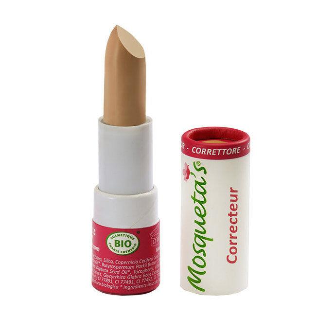 Mosqueta's Stick multi correcteur bio à l'huile de rose musquée - Beige moyen n°2