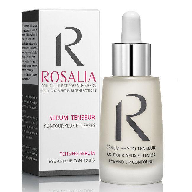 Rosalia Sérum phyto tenseur bio à l'huile de rose musquée - Yeux et lèvres 30ml