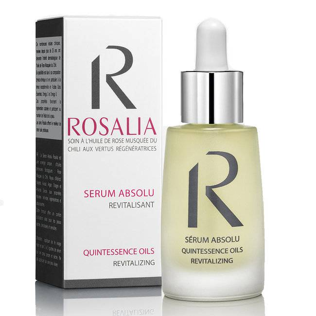 Rosalia Sérum absolu bio - Revitalisant à l'huile de rose musquée 30ml