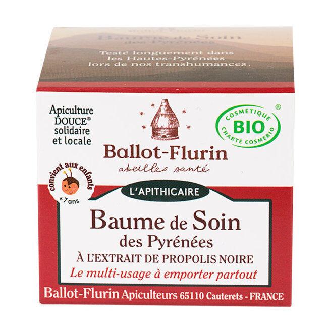 Ballot Flurin Baume de soin des Pyrénées bio 30ml - Visage et Corps