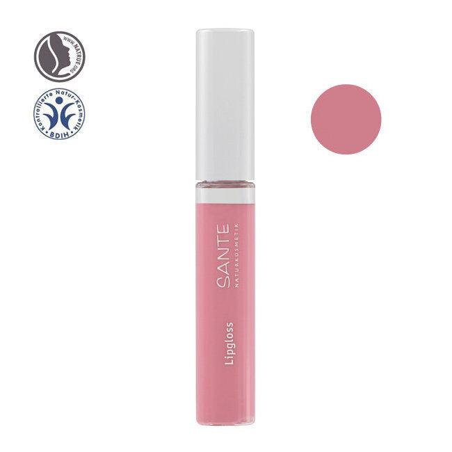 Sante Naturkosmetik Gloss à lèvres bio n°01 Nude rose 8ml