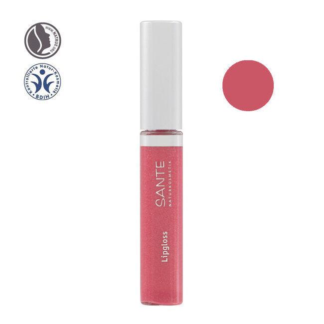 Sante Naturkosmetik Gloss à lèvres bio n°03 Peach pink 8ml