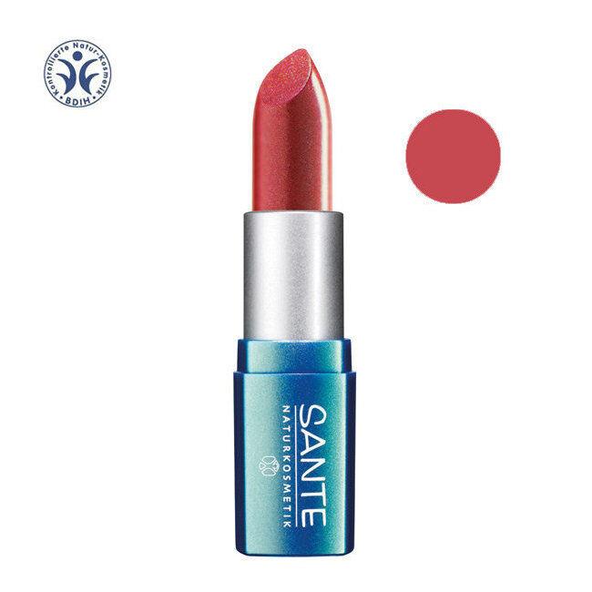 Sante Naturkosmetik Rouge à Lèvres bio n°21 Coral pink 4,5g