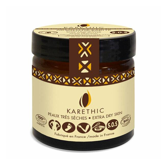 Karethic Absolu de karité - 100% karité bio 50ml