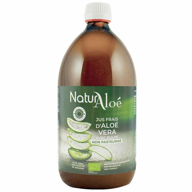 NaturAloe Pur jus d'Aloe vera bio 1L