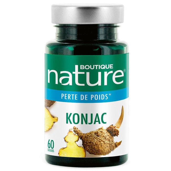 Boutique Nature Konjac - Minceur et Perte de poids - 60 gélules