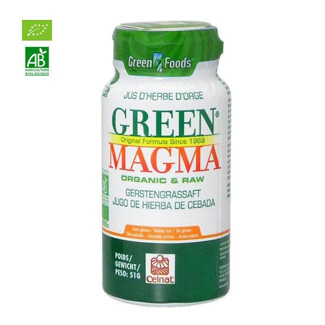 Green Magma Jus d'herbe d'orge bio 136 comprimés