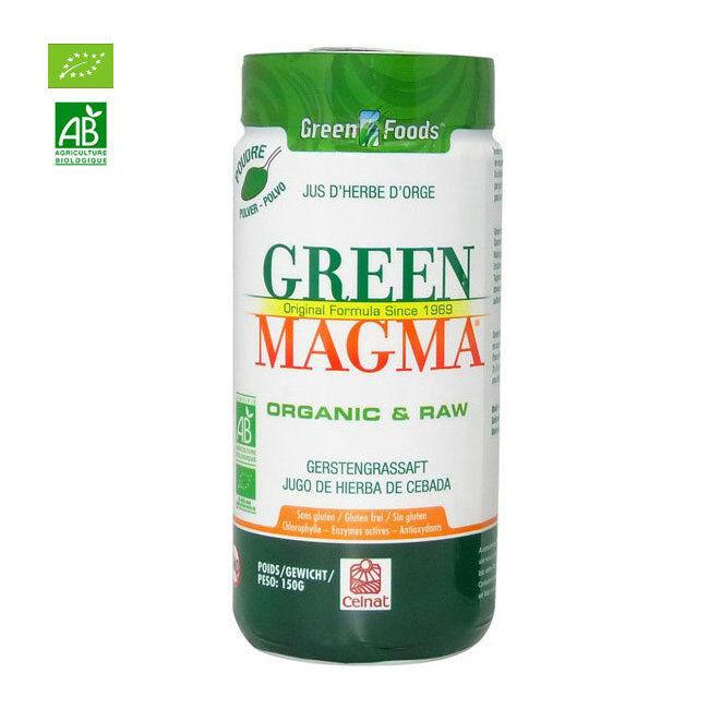 Green Magma Jus d'herbe d'orge bio en poudre 150g