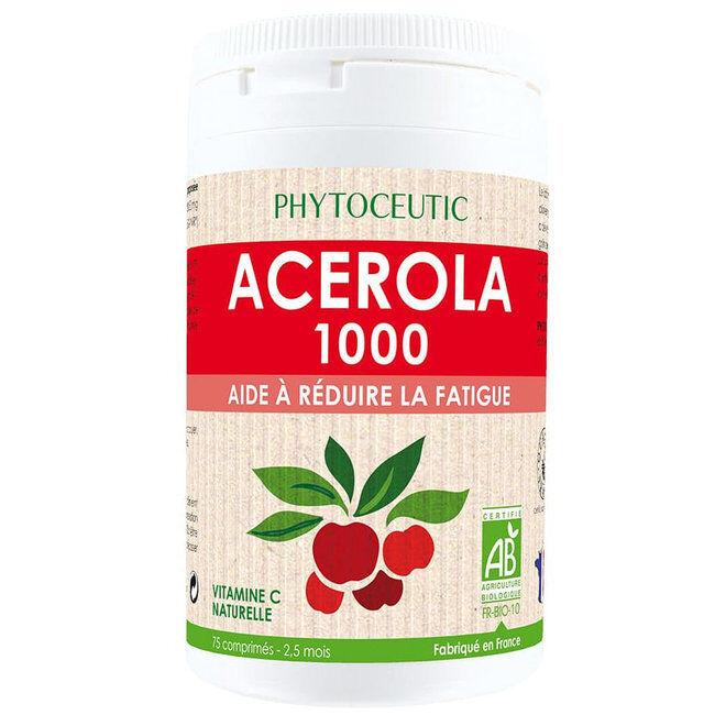 Phytoceutic Acérola 1000mg Bio - 75 comprimés