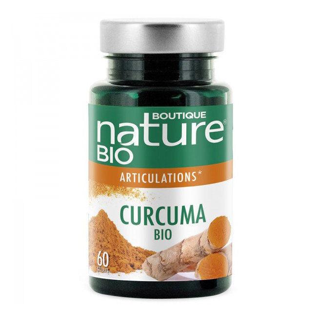 Boutique Nature Curcuma Poivre noir bio Anti inflammatoire - 60 gélules
