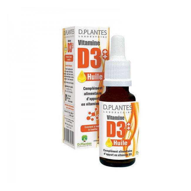 D. Plantes Vitamine D3++ Huile - flacon 20 ml