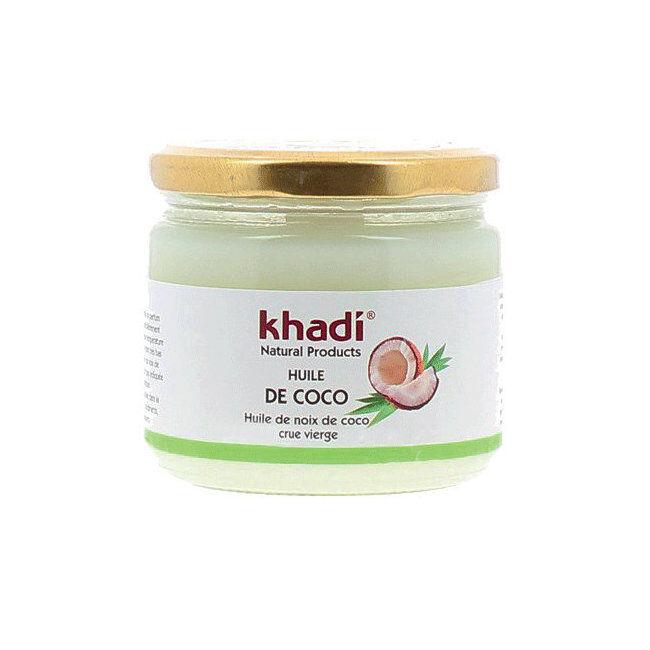 Khadi Huile de coco vierge - Cheveux et visage 250g