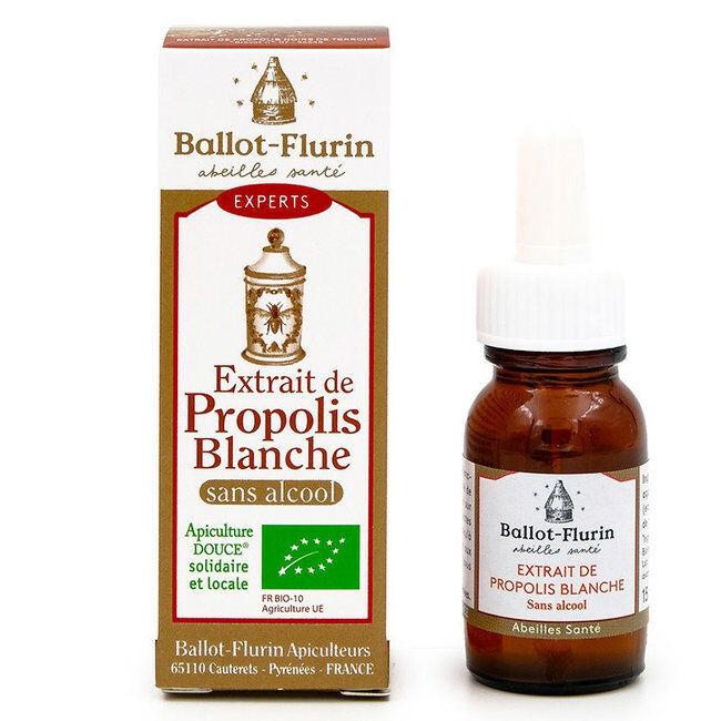 Ballot Flurin Extrait de Propolis blanche bio sans alcool 15ml