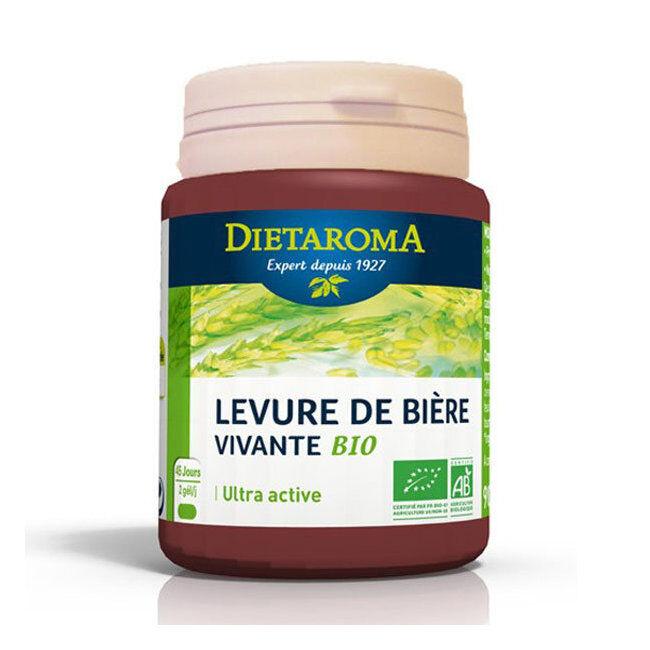 Dietaroma Levure de bière vivante bio - 90 gélules