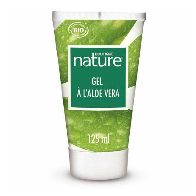 Boutique Nature Gel à l'Aloe vera bio Visage et corps - Tube 125ml