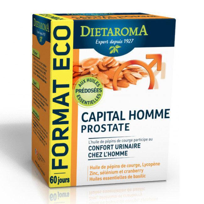 Dietaroma Capital Homme Prostate - Confort urinaire - 120 capsules