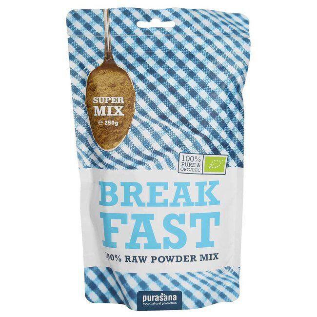 Purasana Mélange Petit déjeuner bio - Breakfast - 250 g