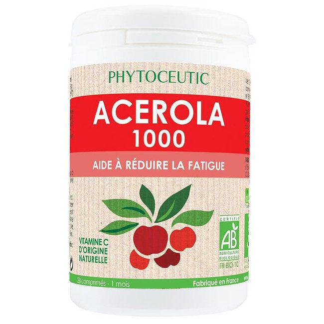 Phytoceutic Acérola 1000mg Bio - 28 comprimés