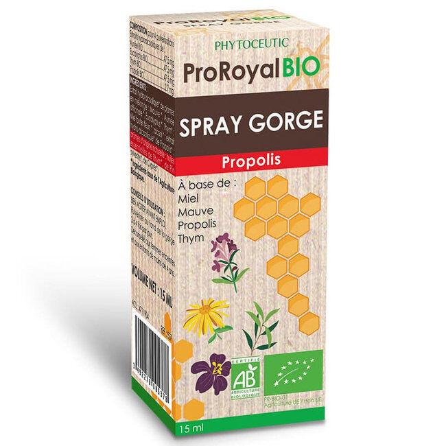 Phytoceutic Spray Gorge Propolis Bio Proroyal - 15ml