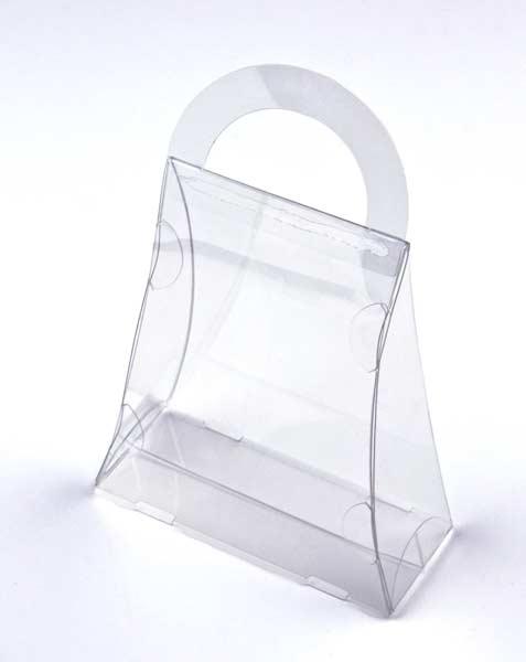 Packlinq Boite à conformité alimentaire en forme de sac à main 11 x 4.4 x 13.3cm (25 Pièces) [FS182]