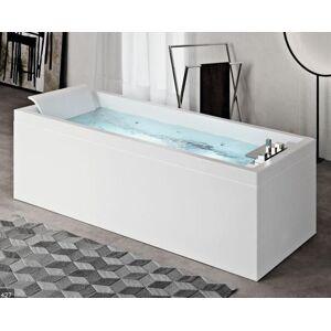 Novellini Baignoire d'hydromassage Sense 4 Dream Air - 180x80 - Blanc doux (opaque) - SANS - Publicité