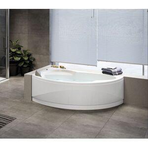 Novellini Baignoire d'hydromassage Vogue Hydro Plus - 165x85 - Droit - CON COLONNA CON ERO - Publicité