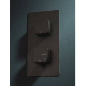 Ritmonio Mitigeur douche thermostatique encastrable Haptic Black 2/3 sorties - Publicité