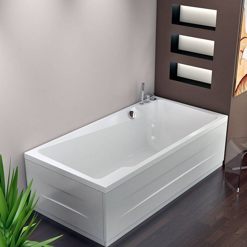Thermodesign Cartagena Hot Tub 190x95 - TAPS: SANS ROBINET - Color Therapy: Avec chromothérap