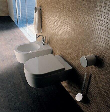Flaminia Lien de toilette Go Clean suspendu - SLIM CADUTA RALLENTATA LKCW07