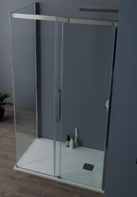 Tamanaco Boîte de douche 8PSC 120x80 ouverture porte coulissante