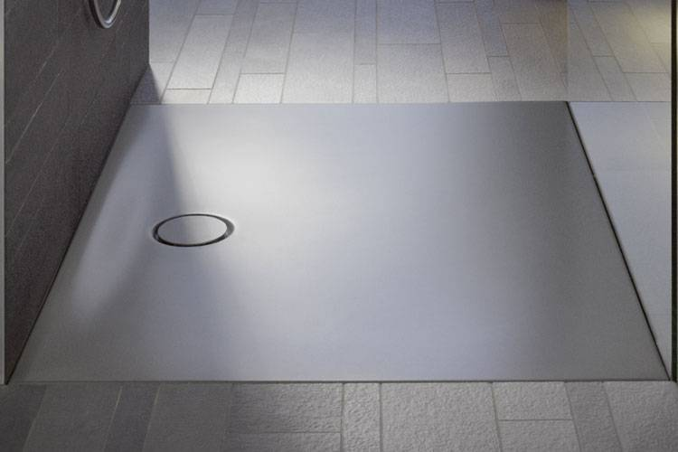 Bette Receveur de douche BetteFloor 80x80 en 22 couleurs - Fumée 403