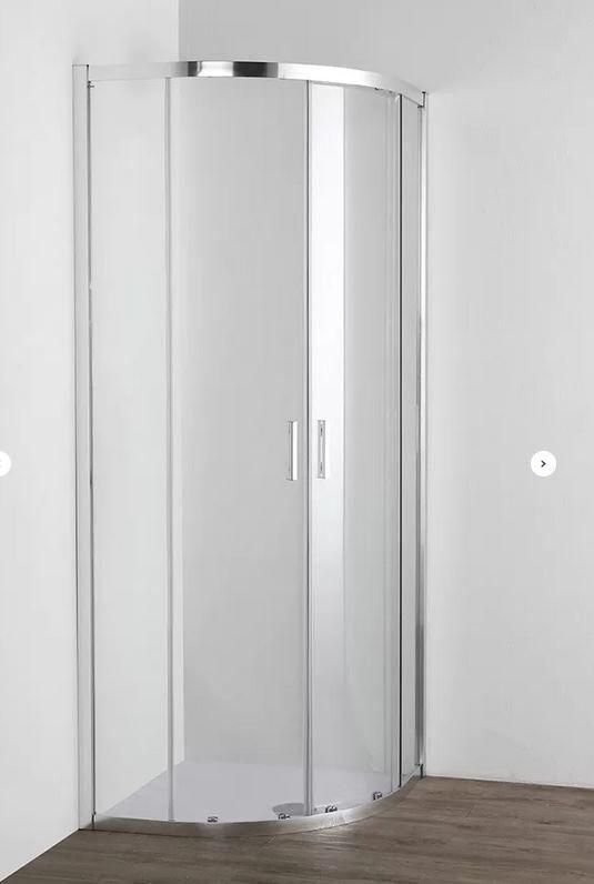 Grandform/Kinedo Boîte de douche semi-circulaire Fast2000 80x80