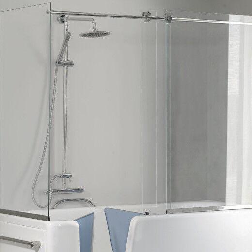 Busco Couvre-baignoire Auxilia avec porte dans toutes les tailles - Modèle 120x70 Rela