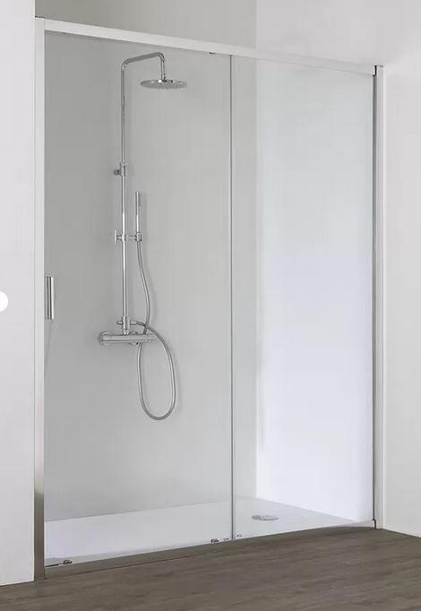 Grandform/Kinedo Cabina de ducha con puerta corrediza Fast2000 XXL 150