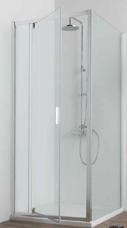 Grandform Cabine de douche 1 porte tournante Fast2000 90