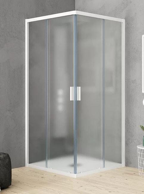 Grandform Boîte de douche Fast2000 Pixel 110x70 ouverture à angle coulissant