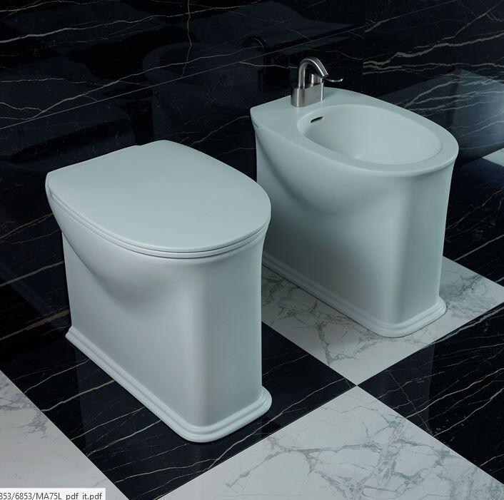 Flaminia Toilette Madre Goclean - SLIM CON DISCESA RALLENTATA MACW05